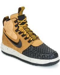 reputable site 978e1 b59c4 Nike - Lunar Force 1  17 Duckboot Men s Shoes (trainers) In Brown -