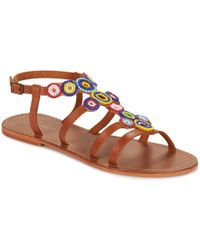 Betty London - Ekoba Women's Sandals In Multicolour - Lyst