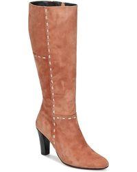 Betty London - Hylana Women's High Boots In Brown - Lyst
