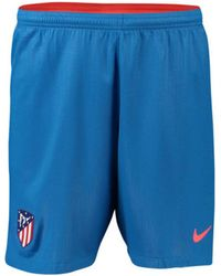 Nike - 2018-2019 Atletico Madrid Away Football Shorts Women's Shorts In Blue - Lyst
