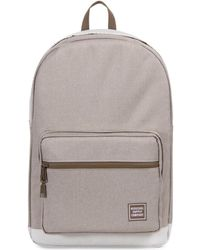 Herschel Supply Co. - Supply Co. Light Khaki Crosshatch Pop Quiz Backpack Women's Backpack In Green - Lyst
