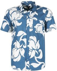 Patagonia - Got To Men's Short Sleeved Shirt In Blue - Lyst