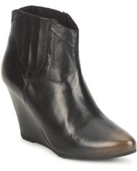 Bronx - Victotria Low Ankle Boots - Lyst