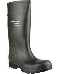 Dunlop | Purofort Professiona Men's Wellington Boots In Green | Lyst