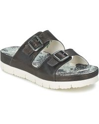 Think! - Leit Women's Mules / Casual Shoes In Black - Lyst