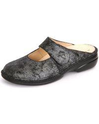 Finn Comfort - Stanford Blackargento Iras Women's Clogs (shoes) In Multicolour - Lyst