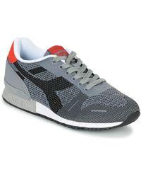 Diadora - Titan Weave Men's Shoes (trainers) In Grey - Lyst