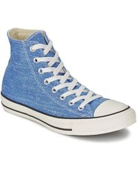 Converse | Ct Good Wash Hi Men's Shoes (high-top Trainers) In Blue | Lyst