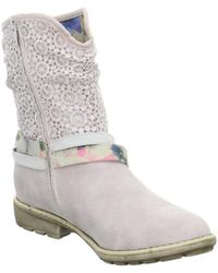 S.oliver - Kinderstiefel Men's Low Ankle Boots In Pink - Lyst