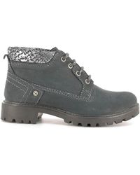 Wrangler - Wl162505 Ankle Boots Women Navy Women's Mid Boots In Blue - Lyst