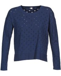 S.oliver - 13-402-61-3736 Women's Jumper In Blue - Lyst