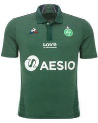 Le Coq Sportif - 2018-2019 St Etienne Home Football Shirt Women's T Shirt In Green - Lyst