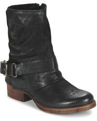 Dream in Green - Efinette Men's Mid Boots In Black - Lyst