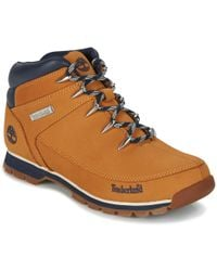Timberland - Euro Sprint Hiker Men's Mid Boots In Brown - Lyst