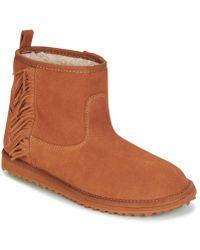 Roxy - Joyce J Boot Brn Women's Mid Boots In Brown - Lyst