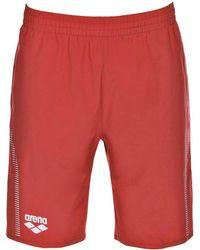 Arena - TL Bermuda femmes Short en rouge - Lyst
