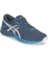Asics - Fuzex Lyte Men's Running Trainers In Blue - Lyst