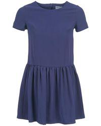 Compañía Fantástica - Bluse Women's Dress In Blue - Lyst