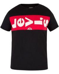 Levi's - Black L-tab T-shirt - Lyst