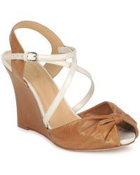 Paul & Joe - Myrti Women's Sandals In Brown - Lyst