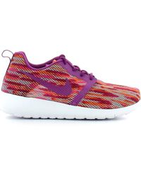 Nike - 705486 Sport Shoes Women Violet Women's Trainers In Purple - Lyst