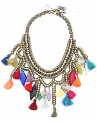 Sveva Collection - Collana Kashmir Women's Necklace In Other - Lyst