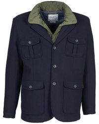 7ca9f418270 Isaia  cortina  Geometric Pattern Wool-cashmere-cotton Blazer in Red ...