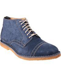 Hush Puppies - Leo Desert Ii Men's Boots In Blue - Lyst