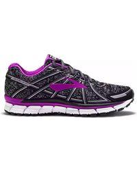 Brooks - Adrenaline Gts 17 Women's Running Trainers In Black - Lyst