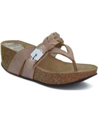 Scholl - Elki W Leather Tan Women's Mules / Casual Shoes In Brown - Lyst