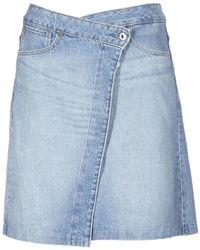 G-Star RAW - Arc Wrap Skirt Women's Skirt In Blue - Lyst