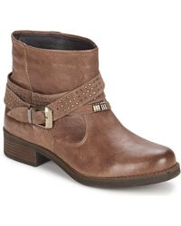 Keys - Close Women's Mid Boots In Brown - Lyst
