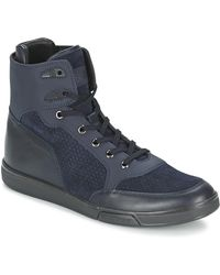 3294296012 Bikkembergs - Olimpian 186 Men s Shoes (high-top Trainers) In Blue - Lyst