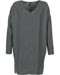 Benetton - Gratif Women's Dress In Grey - Lyst