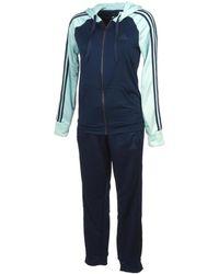 8499d7336af adidas - Refocus ensemble femmes Ensembles de survêtement en bleu - Lyst