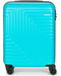 American Tourister - Spinner 55cm Men's Hard Suitcase In Blue - Lyst
