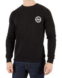 Hype Men's Crest Sweatshirt, Black Men's Jumper In Black