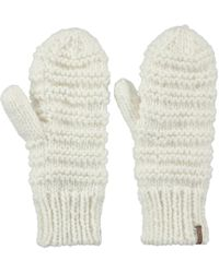 Barts - Jasmin Mitts - White Women's Gloves In White - Lyst