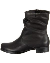 Think! - Denk Women's Low Ankle Boots In Black - Lyst