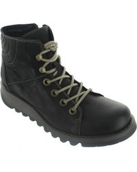 Fly London - Sire Women's Mid Boots In Black - Lyst