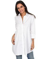 Isabella Oliver - Shirt Kelly Maternity Shirt White F Women's Shirt In White - Lyst