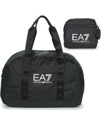 EA7 - Train Foldable U Gymbag - Unisex Gymbag Men s Sports Bag In Black -  Lyst 08071016e8036