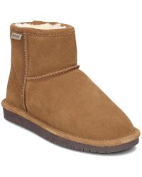 BEARPAW - Demi Women's Snow Boots In Brown - Lyst