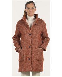 Mat De Misaine - Fjord Women's Coat In Red - Lyst