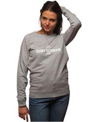 L'affaire De Rufus - Hoodie Saint Germain Femme Women's Jumper In Grey - Lyst