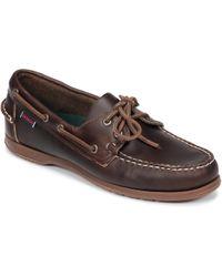 Sebago - Endeavour Fgl Waxed Boat Shoes - Lyst