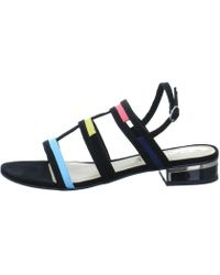 da7045e7c071 Tamaris - 112821320 098 Women s Sandals In Black - Lyst