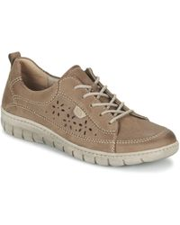 Josef Seibel - Steffi 23 Women's Shoes (trainers) In Brown - Lyst