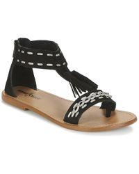 Minnetonka - Carolles Women's Sandals In Black - Lyst