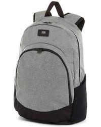 94c267901b1c7a Vans Van Doren Backpack In Black Vc8yba5 in Black for Men - Lyst